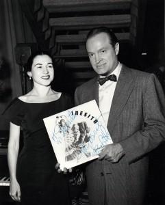Inesita with Bob Hope 1955