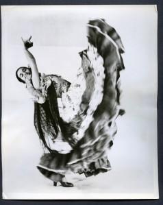 1955 photo of Inesita by Walter Strate New York City