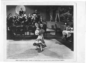 Inesita in Skyline Serenade Universal Short Film 1941