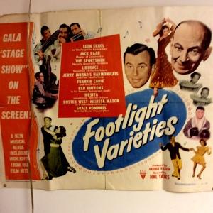 Footlight Varieties Poster 1951