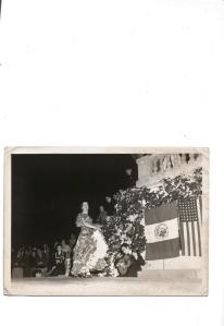 Inesita dancing in Mexico City 1956