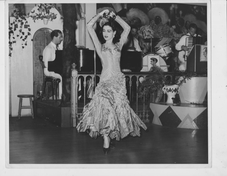 Inesita dancing at La Fiesta in San Francisco 1942 (1650 x 1276)