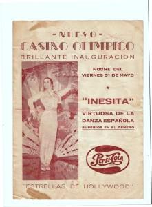 Brochure from Managua Nicaragua