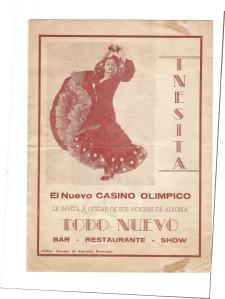 Reverse Side Of Nicaragua Brochure