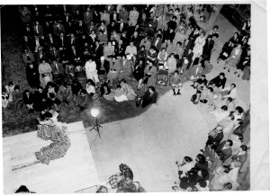 Inesita dancing in concert Mexico 1956